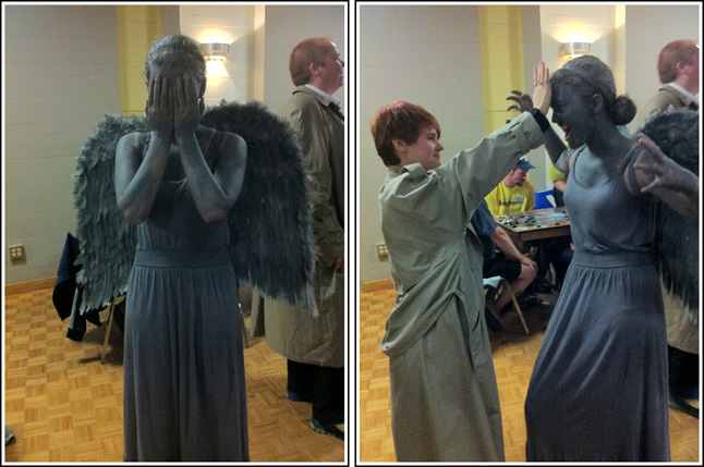 weeping angel 1 and battle