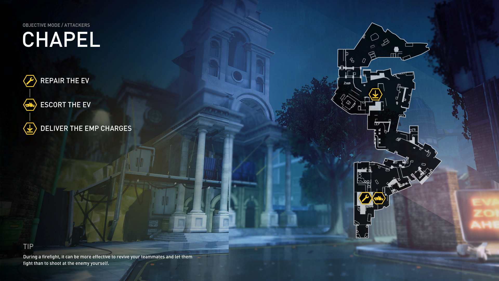 dirty bomb chapel overview