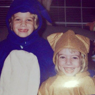 Sonic and Tails kids Halloween costume