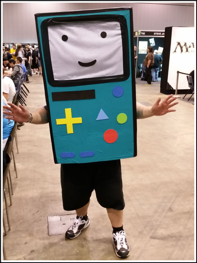 pax aus cosplay day 2 020 adventure time bmo