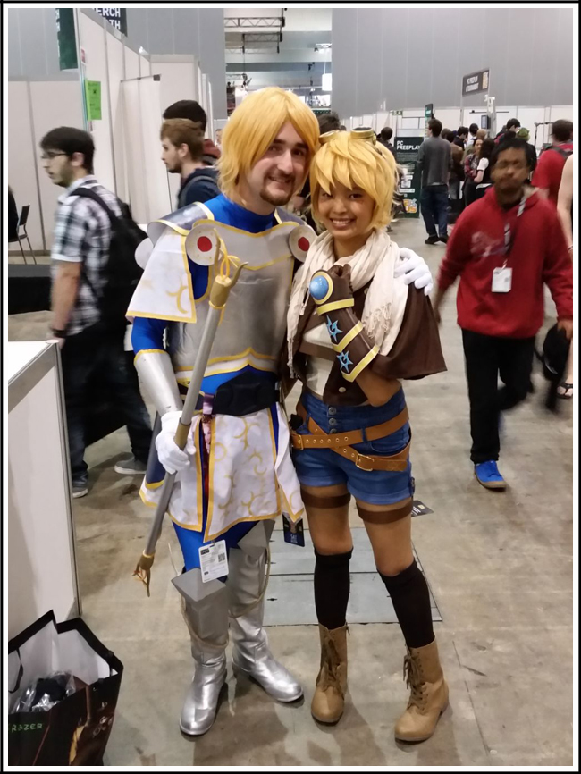 pax aus cosplay day 2 018 league of legends genderswapped ezreal and lux