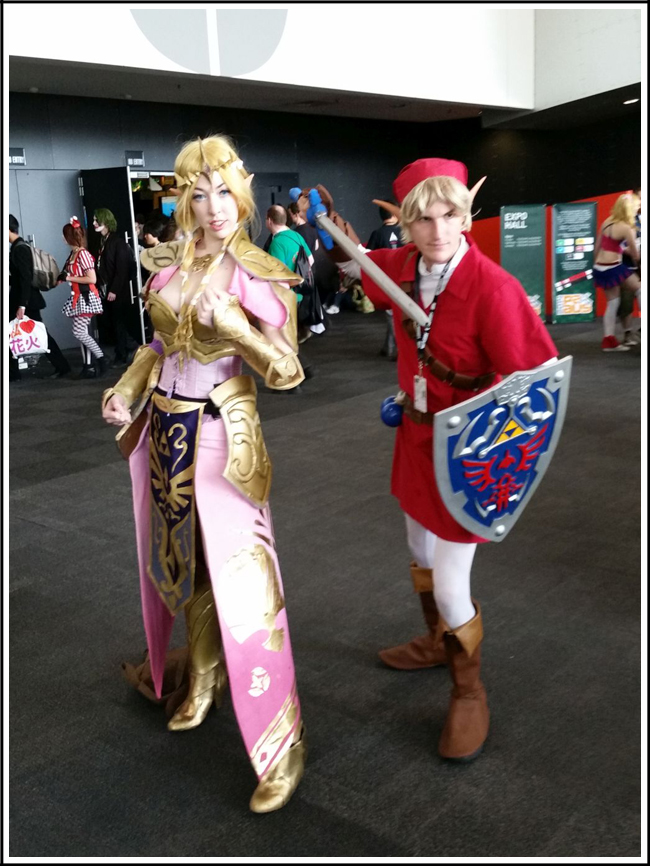pax aus cosplay day 2 013 link and zelda