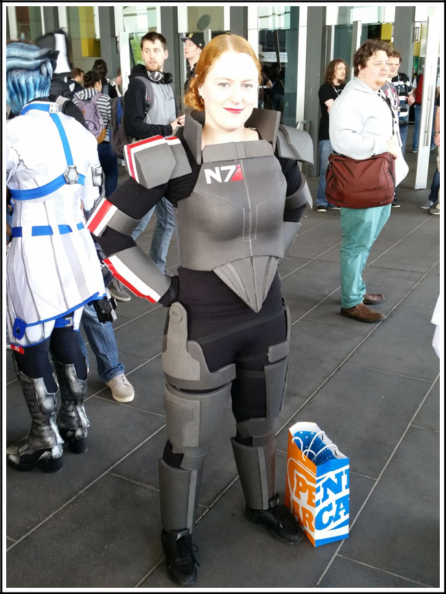 pax aus cosplay day 2 001 mass effect - female shepard