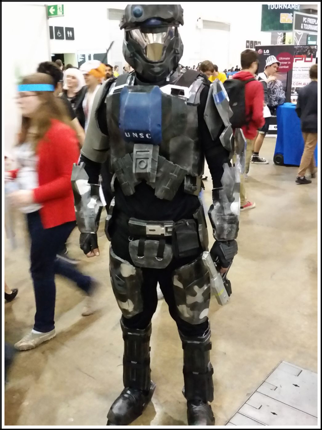 pax aus cosplay day 2 011 - halo master chief