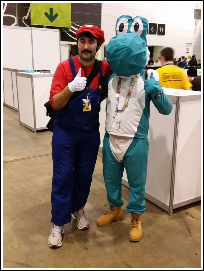 pax aus cosplay day 2 009 - this mario is actually me