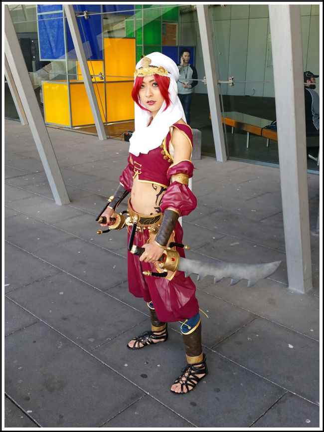 pax aus cosplay day 2 004 - league of legends katarina