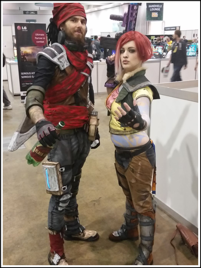 pax aus cosplay day 3 021 borderlands mordecai and lilith