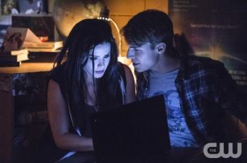 Felicity Smoak and Cooper Seldon
