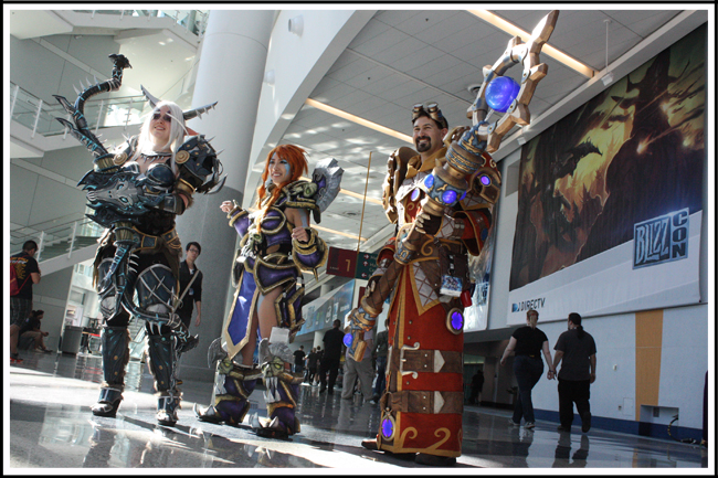 blizzcon 012 sonya from heroes of the storm (middle) tier 13 mage wow (right)