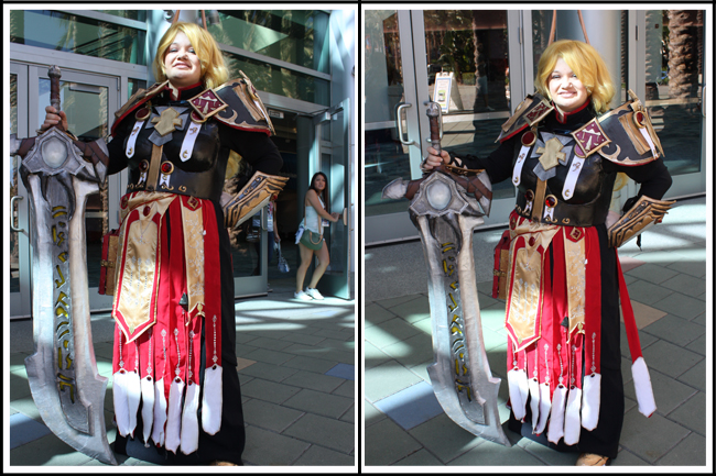 blizzcon 011 susan as tier two paladin with judgment armor