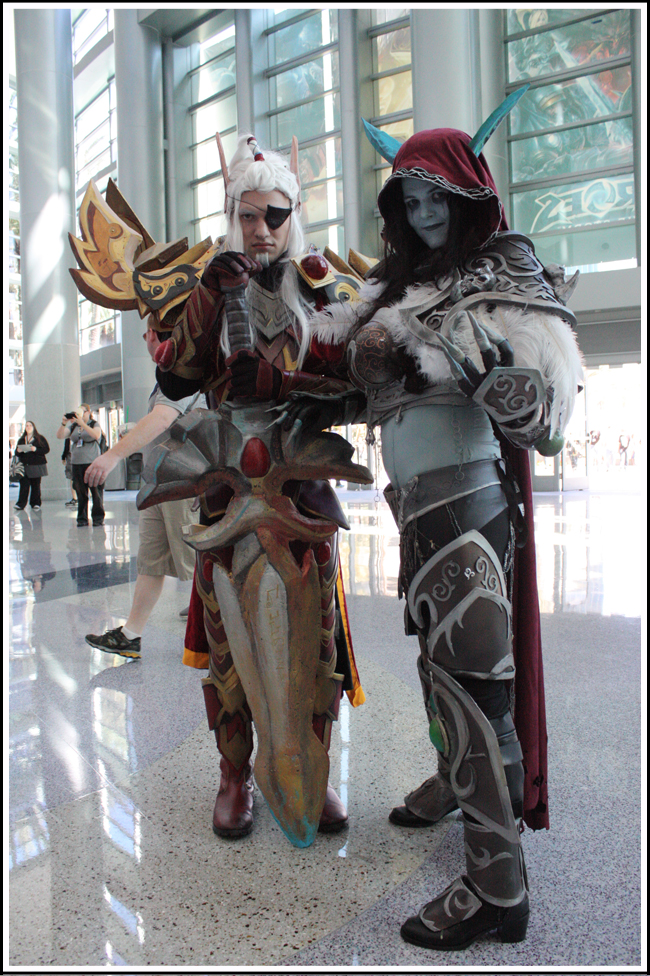 lor'themar theron and sylvanas windrunner