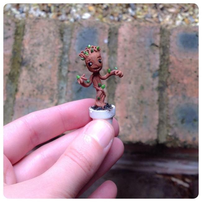 Groot miniature model