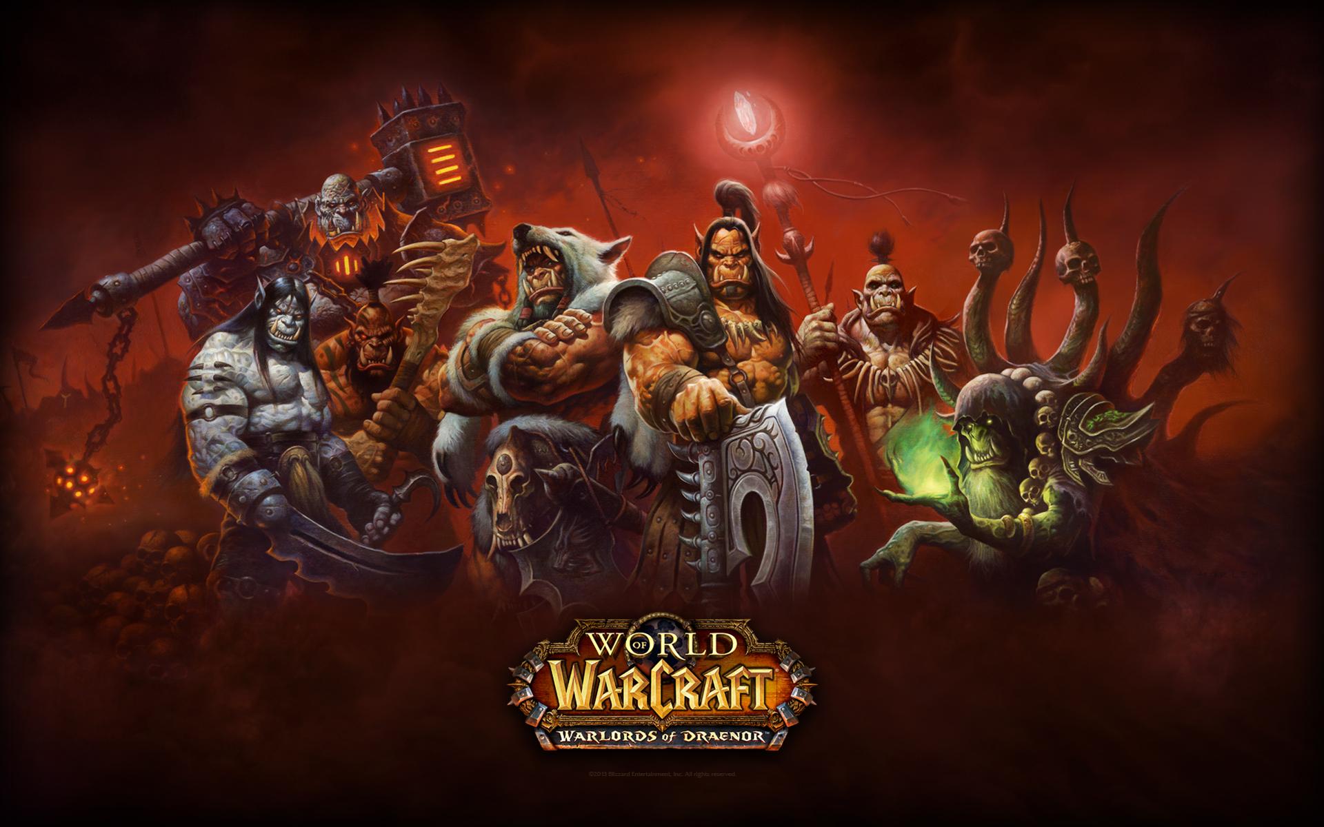 Warlords of Draenor wallpaper