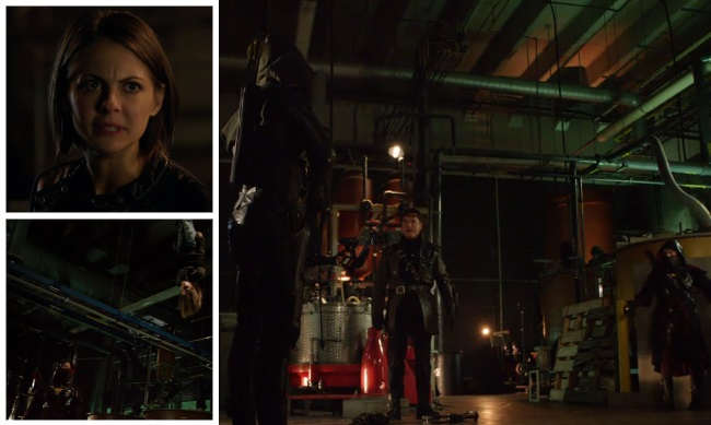 Thea kidnapping montage