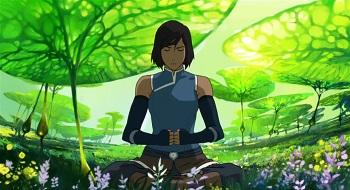 korra in the spirit realm legend of korra beyond the wilds