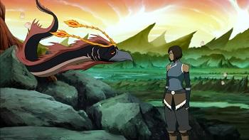 Korra Speaks with Spirits Legend of Korra Operation Beifong