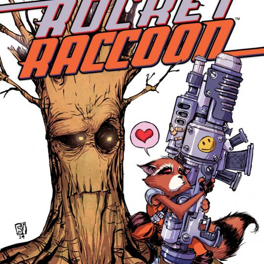 Single Comic Rocket Raccoon 5
