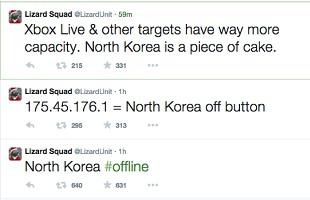 Lizard Squad North Korea 310x