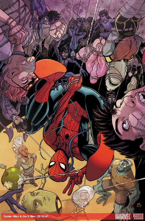 spidery x-men