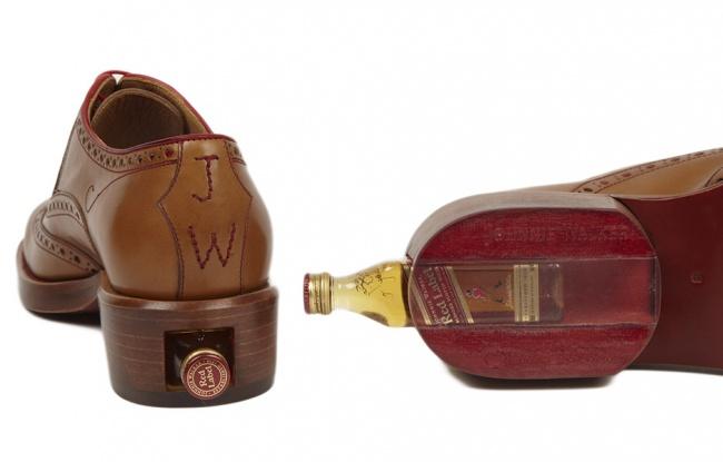 Johnnie Tan Leather Brogue