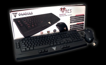 ARES Essential Gaming Keyboard and OUREA Optical Gaming Mouse