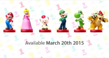 Mario Party 10 amiibos
