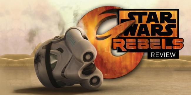 Star Wars: Rebels Review Season 1 Episode 10 Vision of Hope social