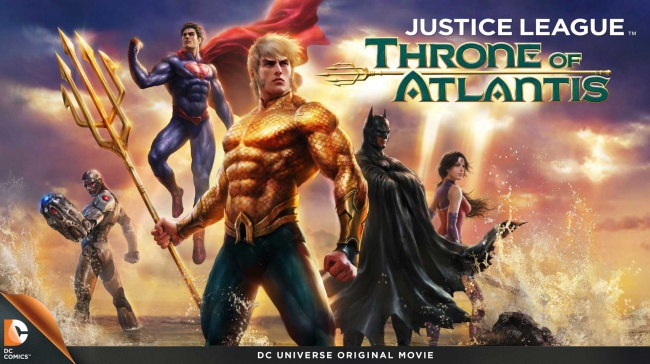 Justice Leauge: Throne of Atlantis