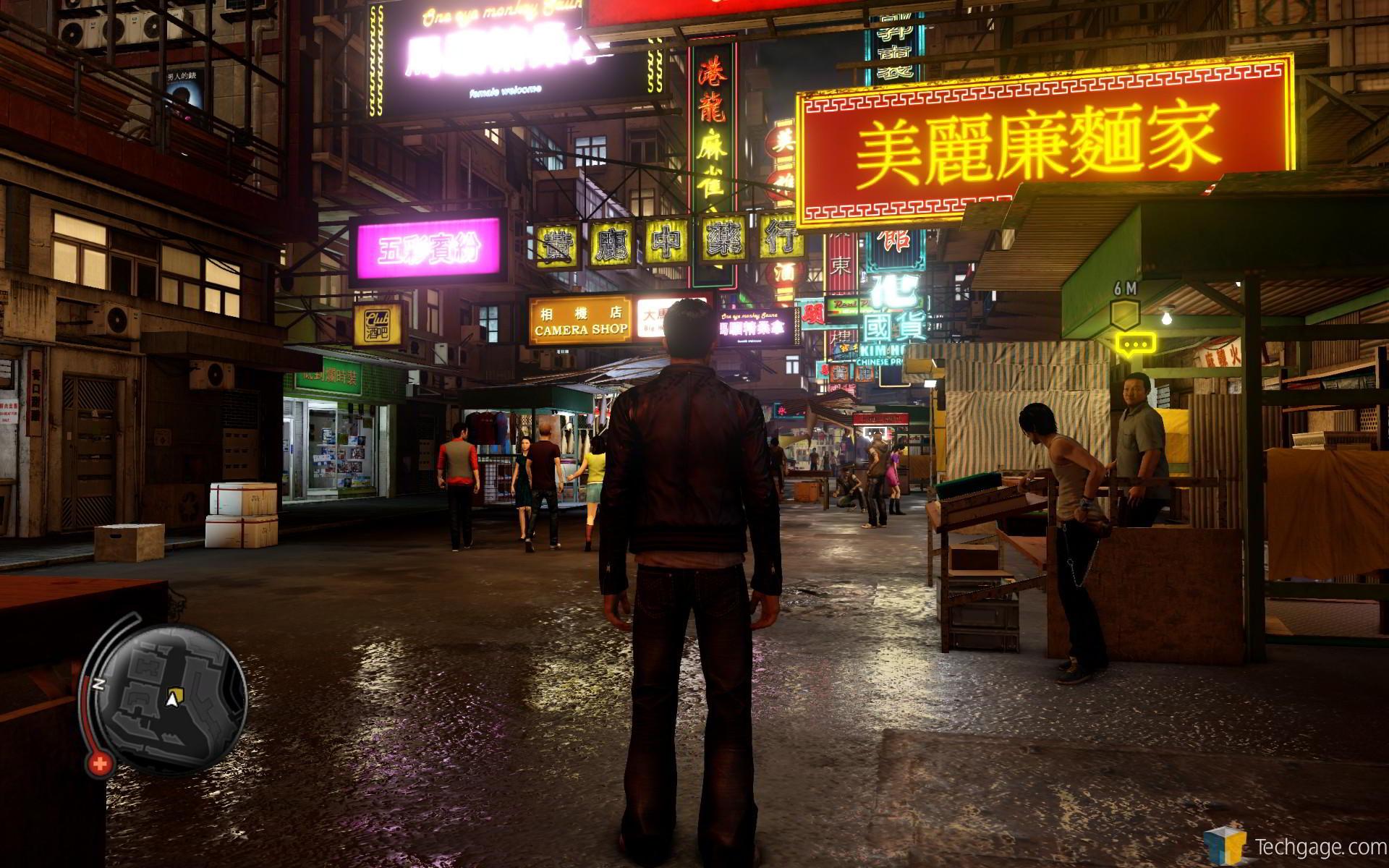 Hong Kong in Sleeping Dogs