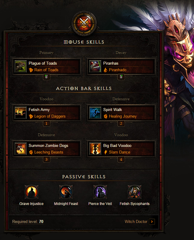Witch Doctor Build Guide