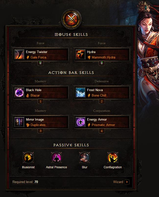 Wizard starter Build: Diablo 3