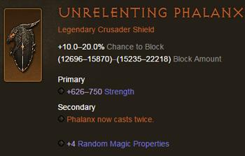 Unrelenting Phalanx