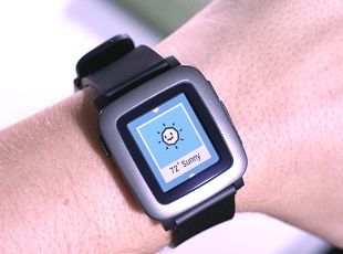 Pebble Time Smartwatch 310x