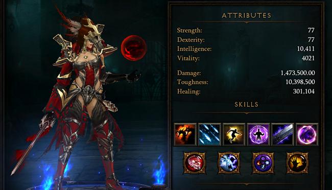 Diablo 3 DPS Damage
