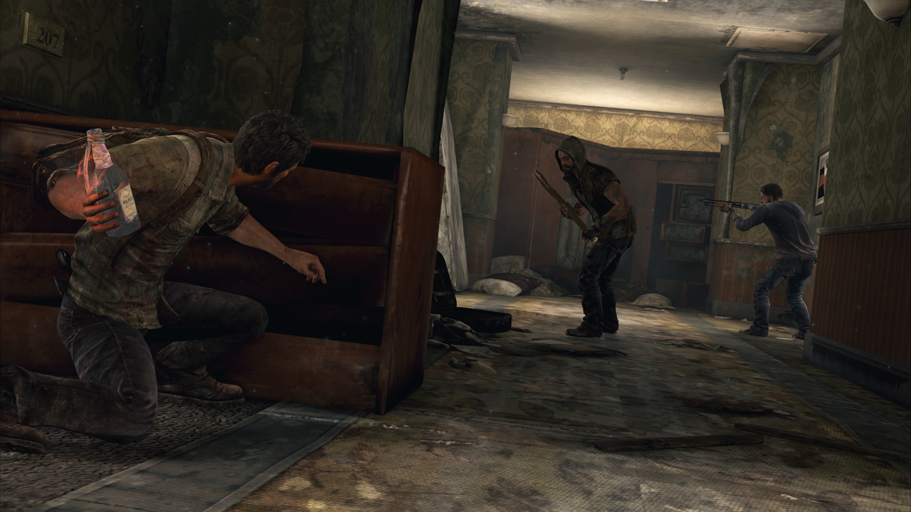 Molotov Cocktail in The Last of Us
