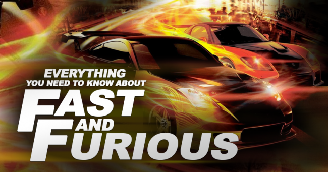 Fast and Furious Banner CineMarter
