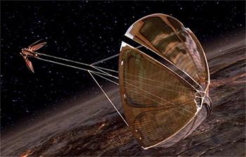 Star Wars Dooku Solar Sailer
