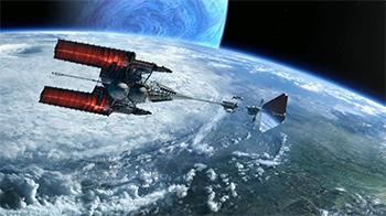 Avatar Venture Star Spacecraft