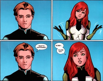 Iceman Outed