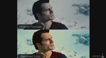 superman in color