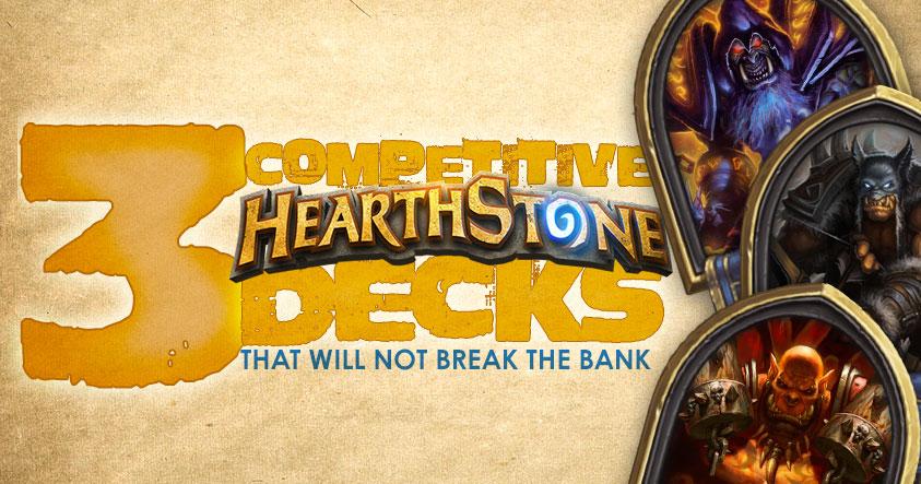 Cheap Hearthstone Decks