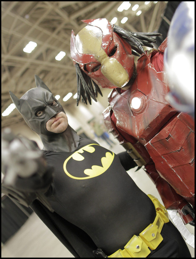 Batman and Ironman/Predator Mashup