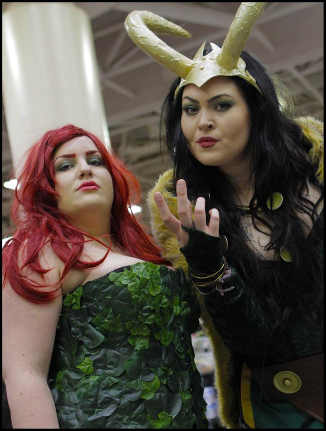 Poison Ivy and Loki