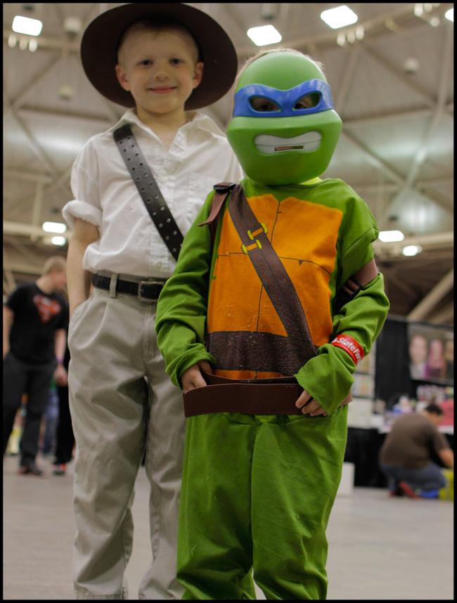 Indiana Jones and Leonardo