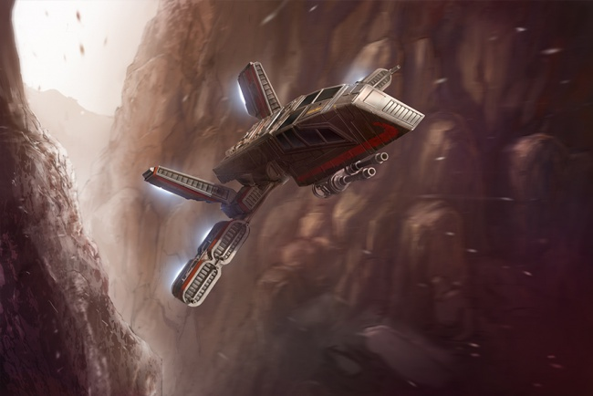 8 Gratuitously Awesome Star Wars Starships 4