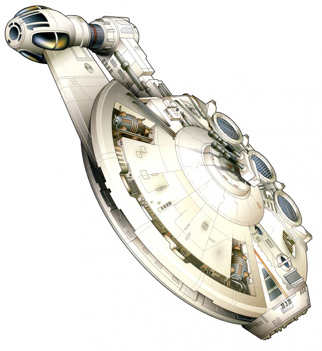 8 Gratuitously Awesome Star Wars Starships 5