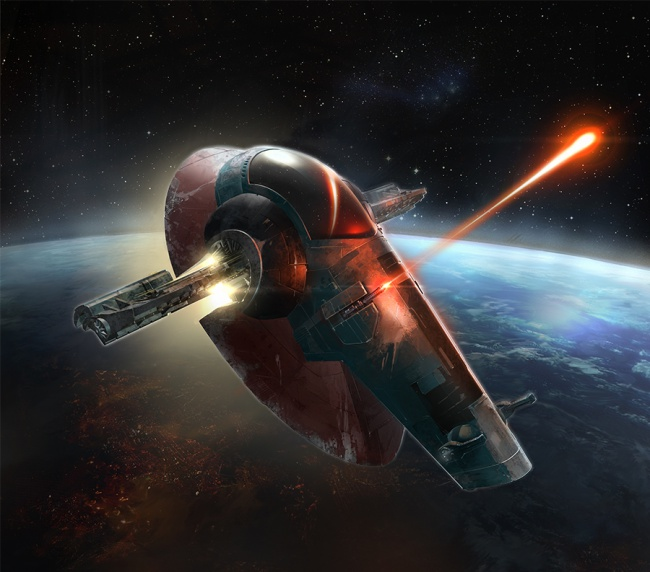 8 Gratuitously Awesome Star Wars Starships 8