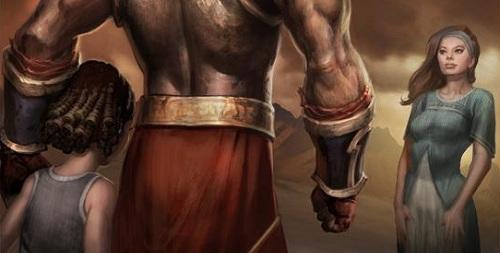 God of War Kratos and family