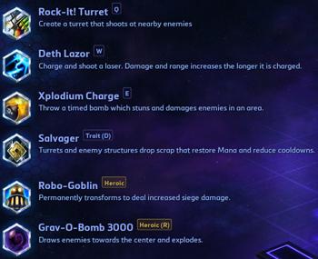 Gazlowe Talents Heroes of the Storm
