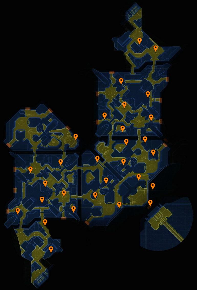 Halo 3 ODST Mombasa Streets Map Resized